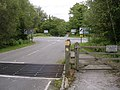 Junction of Beechwood Road with the A337 at Shave Wood, New Forest - geograph.org.uk - 54997.jpg