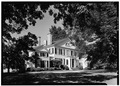 June 1963 SOUTHWEST VIEW - Wye House, Mansion, Bruffs Island Road, Tunis Mills, Talbot County, MD HABS MD,21-EATO.V,2-5.tif