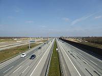Køge Bugt Motorvejen at Køge Nord Station.jpg