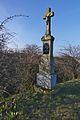 Kříž u národní přírodní památky Na Adamcích, Nenkovice, okres Hodonín.jpg
