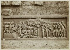 KITLV 28058 - Kassian Céphas - Relief of the hidden base of Borobudur - 1890-1891.tif