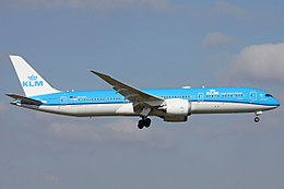 KLM Royal Dutch Airlines, Boeing 787-9, PH-BHA.jpg