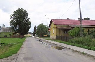 Kretki Duże Village in Kuyavian-Pomeranian Voivodeship, Poland