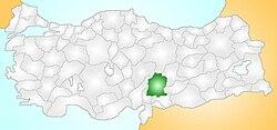 Türkiye'de yeri
