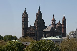 1180s in architecture - Image: Kaiserdom Worms IMG4594b