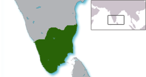Kalabhra dynasty - Kalabhra territories