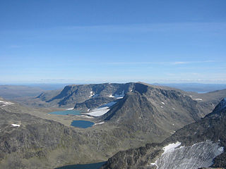 Kalvehøgde mountain in Norway