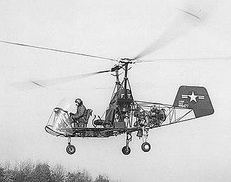 Kaman K-225 - XHTK-1 modified with a Boeing 502 (YT50) turboshaft engine