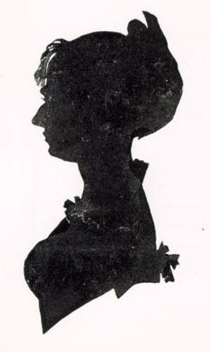 Kamma Rahbek - Silhouette of Kamma Rahbek