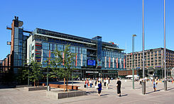 Kamppi Center is a shopping and transportation complex in the Kamppi district in the centre of Helsinki.