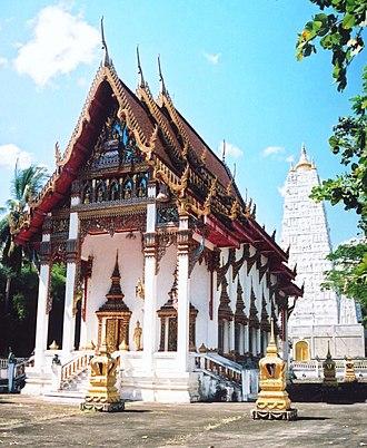 Kanchanadit District - Wat Pha Na Tuayang