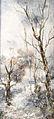 Karl Roux Waldlandschaft im Winter.jpg