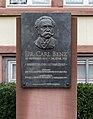 Karlsruhe, Gedenktafel -Carl Benz- -- 2013 -- 5271.jpg