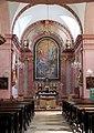 Karnabrunn - Kirche, Hochaltar.JPG