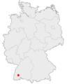 Karte Furtwangen im Schwarzwald in Deutschland.png