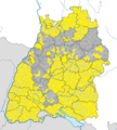 Karte Gemeinden Baden-Württemberg November 2014 Artikel alswiki.png