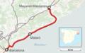 Karte der Bahnstrecke Barcelona–Maçanet-Massanes.png
