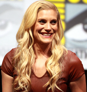 Sackhoff at the 2013 San Diego Comic Con International