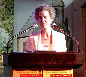 German Book Prize - Image: Katharina Hacker