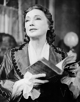 The Barretts of Wimpole Street - Katharine Cornell reprising her role in the Producers' Showcase television production of the play in 1956
