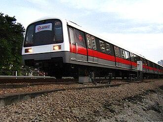 SMRT Trains - Image: Kawasaki C151 refurbished