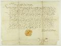 Kazimierz IV Jagiellończyk król polski, wzywa starostę generalnego Łukasza z Górki, aby nie pociągał przed swój sąd poddanych z Winiar i aby nie łowił ryb w wodach, należących do miasta Poznania..png