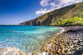 Kealakekua Bay - A photo of Kealakekua Bay in the morning