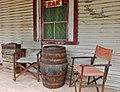Keg Outside a Bar (23900193748).jpg
