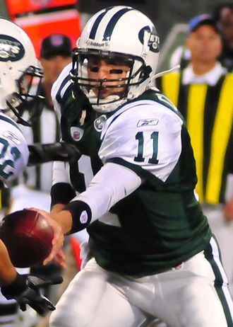 Kellen Clemens - Clemens with the Jets during the 2009 preseason.