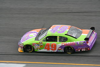 Ken Schrader - 2008 BAM racing racecar