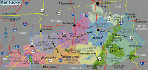 Kentucky – Travel guide at Wikivoyage on map of ky and oh, map of atlanta, map of mid-atlantic, map of tennessee, map of chicago, ohio county kentucky, map of philippines, map indiana kentucky, map of houston, map of philadelphia, map of kansas city, map virginia kentucky, map illinois kentucky, map of new england, map of quebec, map of central europe, map of new jersey, map of new york city, map of southeast florida, map of midwest,