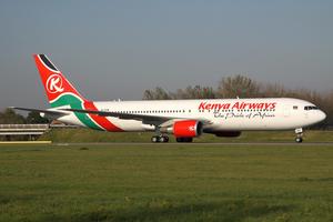Kenya Airways - A Boeing 767-300ER at Amsterdam Airport Schiphol in 2011