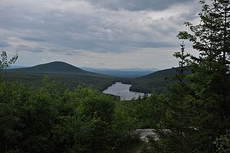 Kettle Pond State Park - Image: Kettle Pond From Owls Head