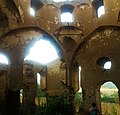 Kilvar church from inside, Shabran, Azerbaijan 02.jpg