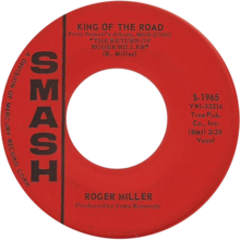 King of the road by roger miller us vinyl a-side.png