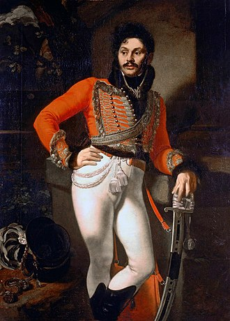 1809 in art - Image: Kiprensky Davydov