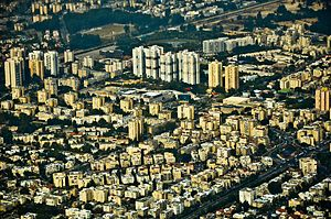 Kiryat Motzkin - Image: Kiryat Motzkin Aerial View