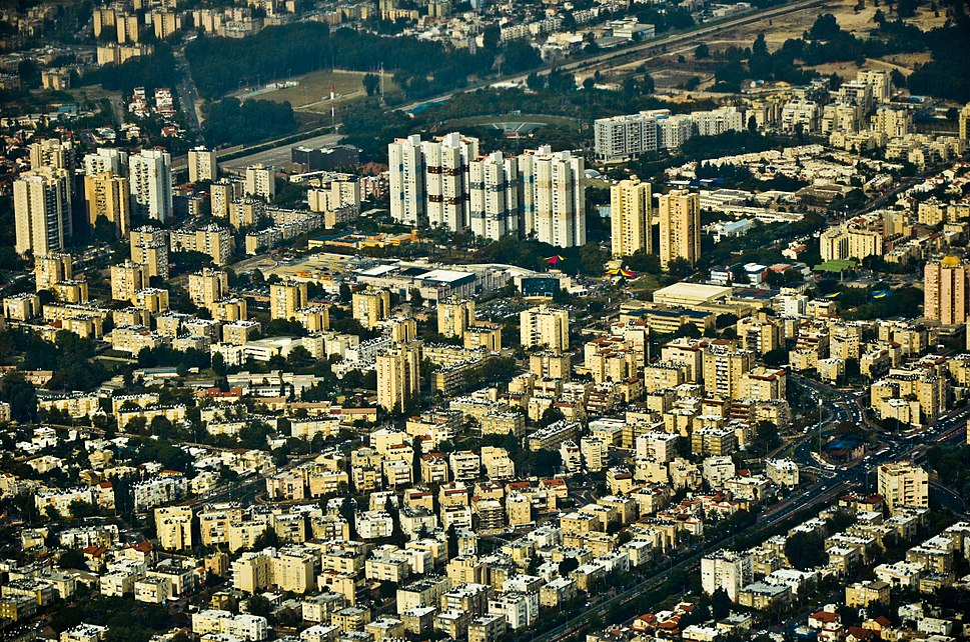 Kiryat Motzkin Aerial View