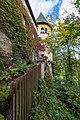 Klagenfurt Hallegger Strasse 131 Schloss Hallegg NO-Eckturm 05102015 7880.jpg