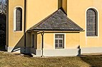 Klagenfurt Villacher Vorstadt Kreuzbergl Kalvarienbergkirche Sakristei 29012018 2467.jpg