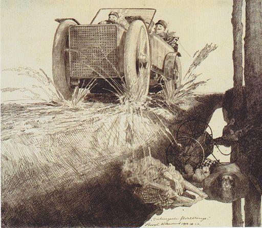 Klemens Brosch - Verhungerte Flüchtlinge - 1916