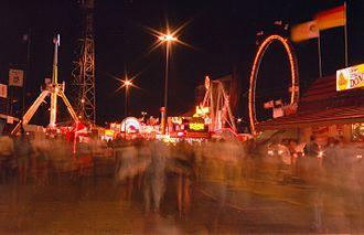 K-Days - Klondike Days crowd blur, 1997