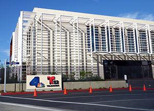 KVEA - Studio building shared by KNBC and KVEA