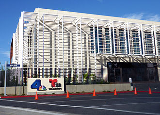 KNBC - Current studio building shared by KNBC and KVEA