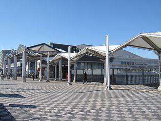 Seishin-minami Station - Station entrance (November 2011)