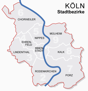 Koln Germany Map Cologne   Wikipedia