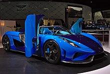 The Regera D Elegance Sporting A Custom Swedish Blue Paintwork
