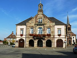 The town hall in Kogenheim