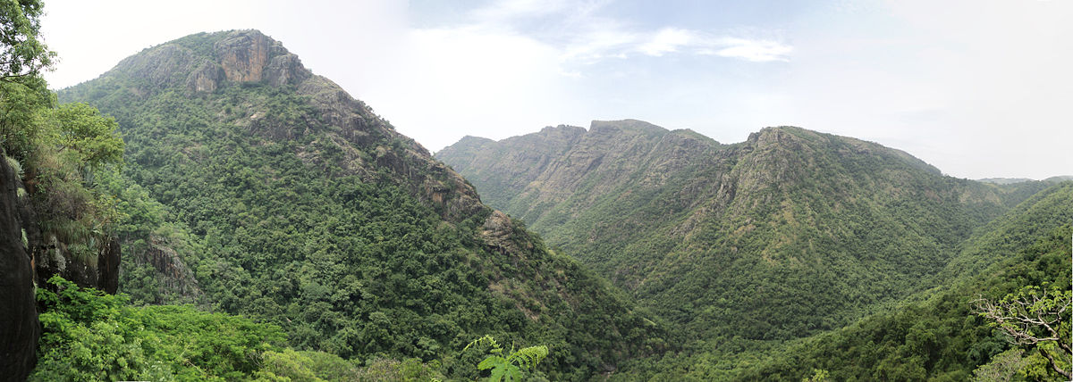 view of Eastern Ghats at Kollimalai(Kolli Hills), Tamil Nadu - Eastern Ghats