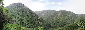 Namakkal district - Panoramic View of Kolli Hills